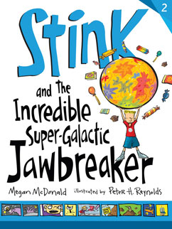 Cover for Stink and the Incredible Super-Galactic Jawbreaker