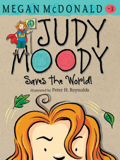 Cover for Judy Moody Saves the World!
