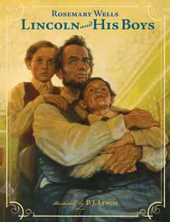 Cover for Lincoln and His Boys