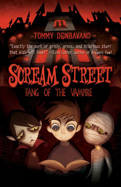 Cover for Scream Street: Fang of the Vampire