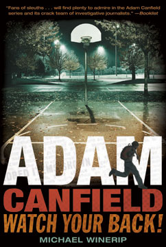 Cover for Adam Canfield: Watch Your Back!