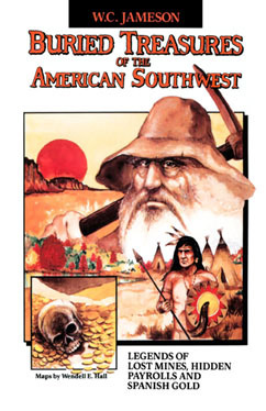 Cover for Buried Treasures of the American Southwest