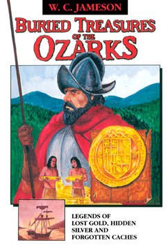 Cover for Buried Treasures of the Ozarks
