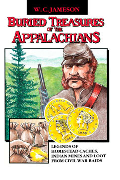 Cover for Buried Treasures of the Appalachians