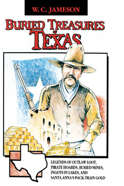 Cover for Buried Treasures of  Texas