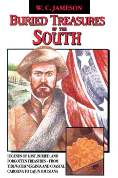 Cover for Buried Treasures of the South