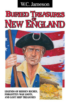 Cover for Buried Treasures of New England