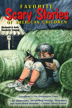 Cover for Favorite Scary Stories of American Children