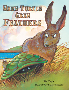 Cover for When Turtle Grew Feathers