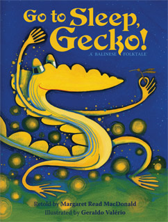 Cover for Go to Sleep, Gecko!