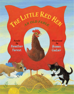 Cover for Little Red Hen