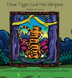 Cover for How Tiger Got His Stripes