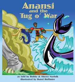 Cover for Anansi and the Tug o'War