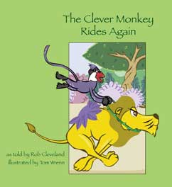 Cover for Clever Monkey Rides Again