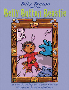 Cover for Billy Brown and the Belly Button Beastie