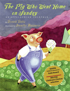 Cover for Pig Who Went Home on Sunday