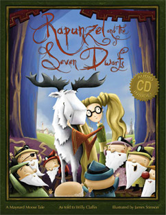 Cover for Rapunzel and the Seven Dwarfs