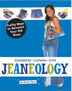 Cover for Jeaneology: Crafty Ways to Reinvent Your Old Blues