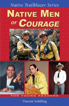 Cover for Native Men of Courage