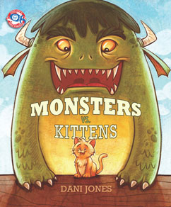 Cover for Monsters vs Kittens