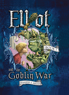 Cover for Elliot and the Goblin War