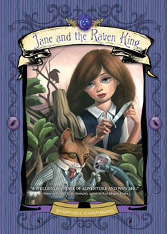 Cover for Jane and the Raven King