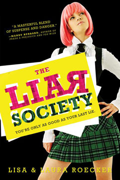 Cover for Liar Society