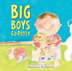 Cover for Big Boys Go Potty
