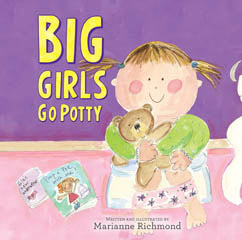 Cover for Big Girls Go Potty