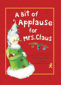Cover for Bit of Applause for Mrs. Claus