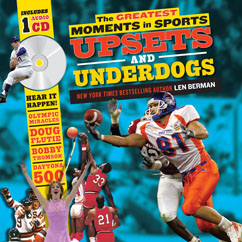 Cover for Greatest Moments in Sports: Upsets and Underdogs
