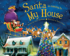 Cover for Santa Is Coming to My House