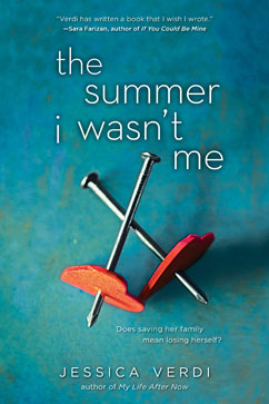 Cover for Summer I Wasn't Me