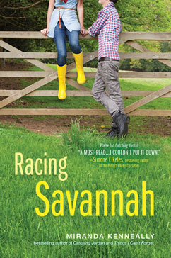 Cover for Racing Savannah