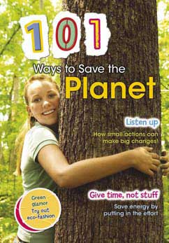 Cover for 101 Ways to Save the Planet