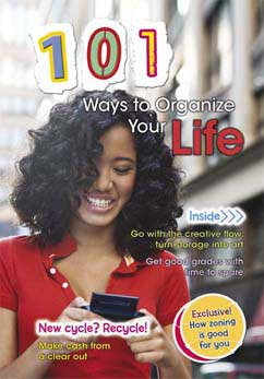 Cover for 101 Ways to Organize Your Life