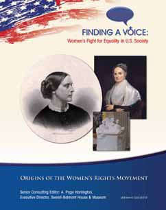 Cover for Origins of the Women's Rights Movement
