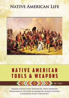 Cover for Native American Tools and Weapons