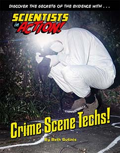 Cover for Crime Scene Techs!