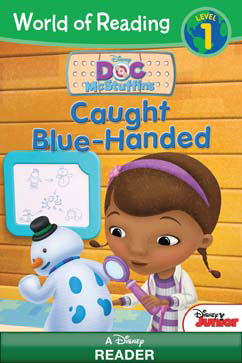 Cover for Caught Blue-Handed
