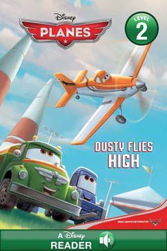 Cover for Dusty Flies High