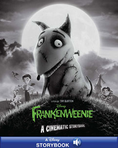 Cover for Frankenweenie: A Cinematic Storybook