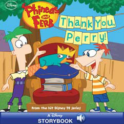 Cover for Thank You, Perry!