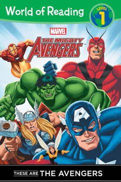 Cover for These Are The Avengers