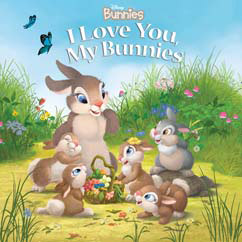 Cover for I Love You, My Bunnies