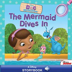 Cover for The Mermaid Dives In