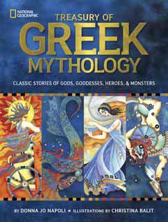 Cover for Treasury of Greek Mythology