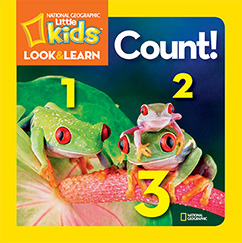 Cover for National Geographic Kids Look and Learn: Count!
