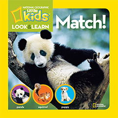 Cover for National Geographic Kids Look and Learn: Match!