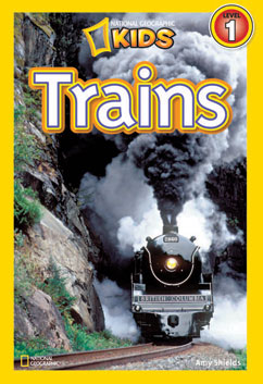 Cover for Trains